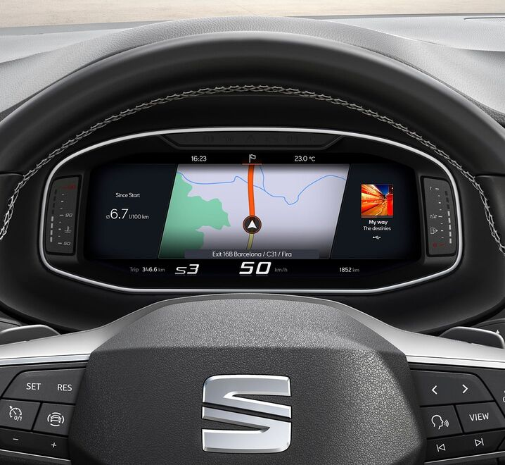 Touch Display im SEAT Ateca